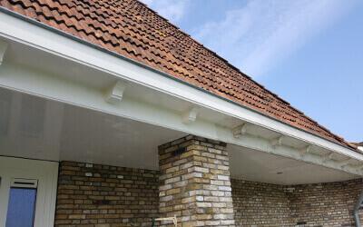 Reinigingsbedrijf voor dakgoten in Friesland